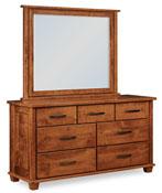 Monarch 7 Drawer Dresser