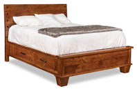 Monarch Bed with 4 Underbed Storage Drawers