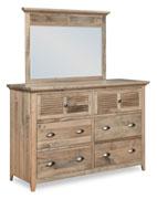 Cottage Tall 6 Drawer Dresser