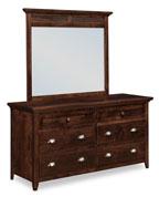 Cottage Short 6 Drawer Dresser