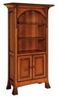 Breckenridge SC-3665  Bookcase w/Doors