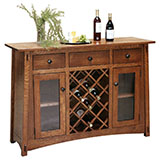 McCoy Wine Buffet 54""