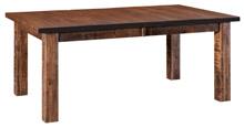 Santa Fe Leg  Dining Table