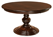 Kingsley Single Pedestal Dining Table