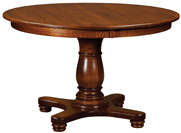 Mason Single Pedestal Dining Table