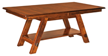 Timber Ridge Trestle Dining Table