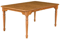 Traditional Leg Dining Table
