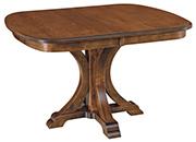 Granite Single Pedestal Table
