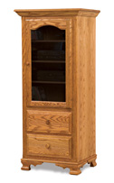Hoosier Heritage 1 Door 2 Drawer Stereo Cabinet