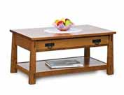 Modesto Coffee Table with Drawer
