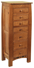 Boulder Creek Jewelry Armoire
