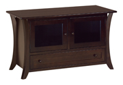 Caledonia TV Cabinet with Drawer