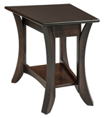 Catalina Wedge Shaped End Table