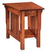 Landmark Wedge Shape End Table