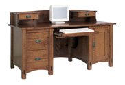 Springhill Computer Desk with Topper