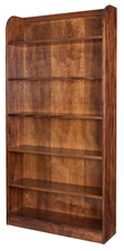 "72"" Oak Ridge Bookcase"