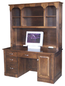 Northport Computer Desk and Hutch Top