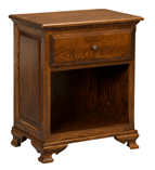 Americana 1 Drawer Open Night Stand
