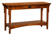 Arts & Crafts Mission Sofa Table