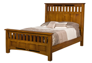 Bel Aire Slat Panel Bed