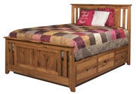 Berwick Slat Panel Combo Bed with Storage