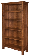 "Regent 72"" Open Bookcase"