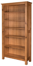 "Regent 84"" Open Bookcase"