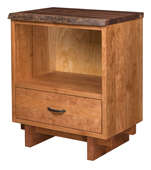 West Canyon 1 Drawer, Open at Top Nightstand