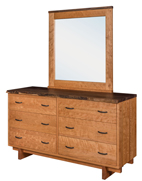West Canyon 6 Drawer Dresser