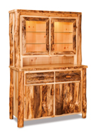 "Fireside Rustic 48"" Kitchen Hutch"