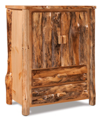 Fireside Rustic 2 Drawer Armoire