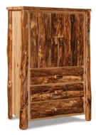 Fireside Rustic 3 Drawer Armoire