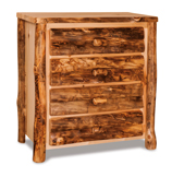 Fireside Rustic 4 Drawer Chest