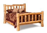Fireside Rustic Bed