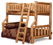 Fireside Rustic Full/Twin Bunk Bed