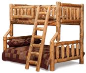 Fireside Rustic Full/Twin Bunk Bed