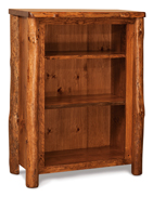 Fireside Rustic 3 Shelf Bookcase