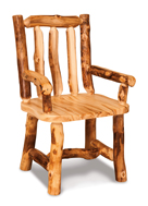 Fireside Rustic Arm Chair