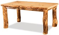 Fireside Rustic Leg Table