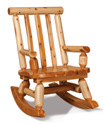 Fireside Rustic Mama Bear Rocker