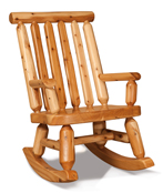 Fireside Rustic Papa Bear Rocker