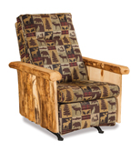 Fireside Rustic Rocker Recliner