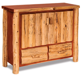 Fireside Rustic TV Cabinet with Drawers