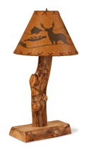 Fireside Rustic Table Lamp