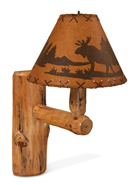 Fireside Rustic Wall Lamp