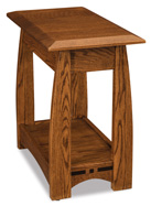 Boulder Creek Open Chair Side End Table