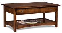 Finland Open Coffee Table with Drawer