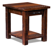 Houston Open End Table with Drawer and Shelf