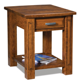 Lexington Open End Table with Drawer