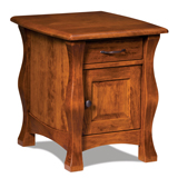 Reno Enclosed End Table with Drawer